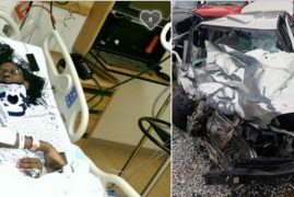 [PHOTOS] Kenyan woman involved in horrific car accident in Oklahoma needs our help