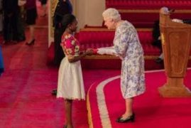 Queen Elizabeth Honors Three Young Kenyans