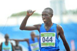 Kenyans take distance titles at Boston meet