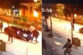CCTV footage of Uhuru Driving Raila in Probox at Night excites Kenyans