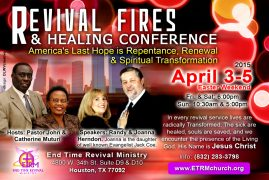 Revival Fires & Healing Conference, Houston, TX