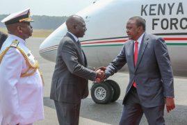 President Uhuru Kenyatta leaves for three-day tour of Botswana ahead of Netanyahu visit