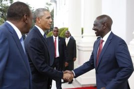 William Ruto meets US President Barack Obama