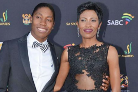 South African Runner Caster Semenya and Wife Welcome Baby