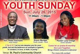St. Paul's Community Church Youth Sunday, July 26th 2015