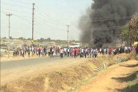 Nine university students arrested over HELB city demo