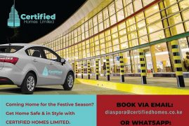 Certified Homes Ltd Christmas Gift-Free Ride From The Airport