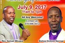 Emmanuel House of Prayer Special Sunday Service July 9 2017 with Bishop Dickson Njoroge