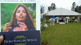 Keroche Breweries Director Tecra Muigai Laid to Rest in Ceremony Graced by Raila