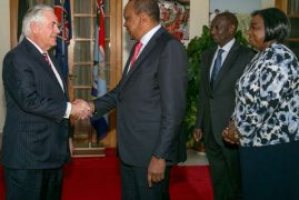 US pleased with Uhuru, Raila talks