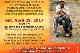 Community Appeal: Tom Mwaura Medical Fund
