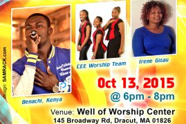 Tuesday Praise & Worship Service with Benachi from Kenya