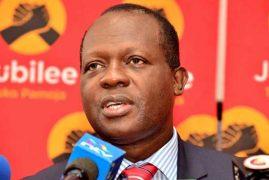 Jubilee postpones primaries in 10 counties