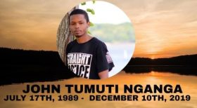 Memorial Service For John Tumuti Nganga On Dec 15th 2019 In Fredericksburg VA