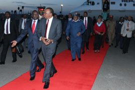 President Kenyatta cancels LA trip after flight hitch