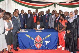 Uhuru signs anti doping bill into law