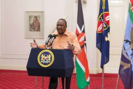 President Kenyatta calls for unity in the New Year