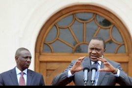 Gay Rights A 'Non-issue' in Kenya, Uhuru And Ruto Say Ahead Of Obama Visit