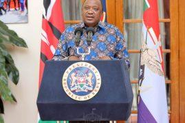 Full Speech: Uhuru Kenyatta's Coronavirus Mitigation Measures 25th March 2020