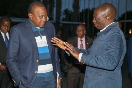 Kenyans asking why Uhuru dispatched Foreign Affairs CS to AU Summit 'instead of Ruto'