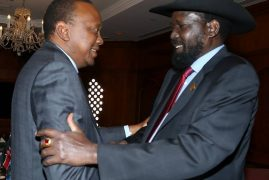 President Uhuru Kenyatta Departs Addis Ababa, Ethiopia