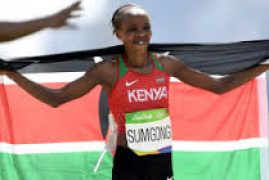 Kenyan Olympic marathon champion Jemima Sumgong fails drugs test VIDEO