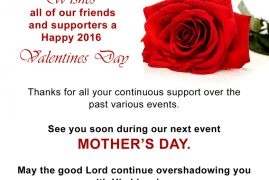 Women of Hope Boston:Wishes all our friends and supporters a happy 2016  Valentines Day