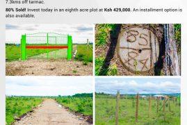 Value additions at Graceland Kangundo Road Phase 3