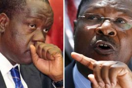 Matiang'i Explains Why He Replied with 'Nonsense' to an SMS from Moses Wetang'ula