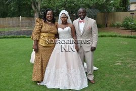 Bishop Margaret Wanjiru Attends Daughter's Wedding in the US