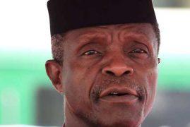 Nigeria's acting president meets ailing Buhari in London