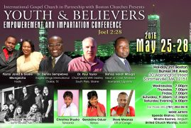 Video: IGC Youth & Believers Conference Christina Shusho in Boston