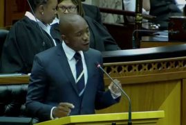 [VIDEO] Watch this South African MP criticise Zuma directly in the face