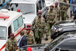 Kenyan president says 14 victims dead at hotel complex; gunmen killed