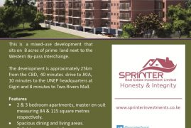 SPRINTER REAL ESTATE INVESTMENTS