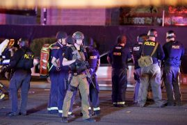 Las Vegas shooting: More than 50 killed, scores wounded