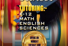 Get Ahead Academic Services  TUTORING: K-12 MATH,ENGLISH,SCIENCES  Contact: 508-762-2392 Open Mon,Tue & Thu