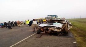 Three Headteachers Killed in a Grisly Road Crash Along Nyeri-Nyahururu Road