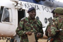 Airport police boss Philip Ndolo replaced after Miguna drama