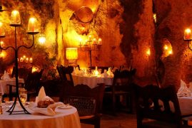 Ali Barbour's Cave Restaurant:Kenya's Most Romantic Restaurant