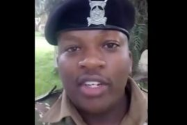 VIDEO: Police Officer Sends Message to CORD Protesters in 'Rap Style'
