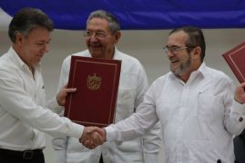 Colombia, FARC rebels look to fortify ceasefire to protect post-referendum peace talks