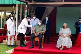 President Uhuru Finally Receives AstraZeneca COVID-19 Vaccine