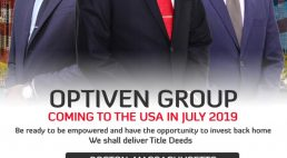 Optiven Group Boston,Massachusetts Tour July 20th -21st 2019 Investment Dinner