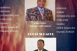 Back at the Mountain with BISHOP MUYA  PHOENIX  ARIZONA  October 3rd -4th 2015