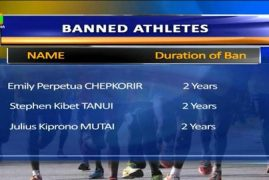 3-time Boston Marathon champ Jeptoo gets 2-year doping ban:8 Kenyan Athletes Banned For Doping