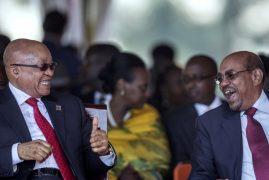 Bashir defies ICC's international arrest warrants with trip to Uganda