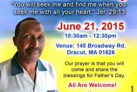 Come Celebrate Father's Day at Well of Worship Center with Bishop Daniel Kihuha,(PEFA) Kiambu Kenya