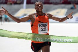 Kenyan men's team edges U.S. in Bolder Boulder