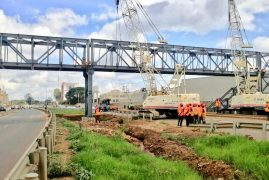 Construction of Thika Road Footbridges to End by December 2018